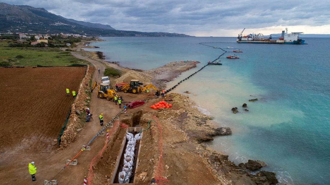 Η ηλεκτρική διασύνδεση Κρήτης-Πελοποννήσου είναι γεγονός (video)