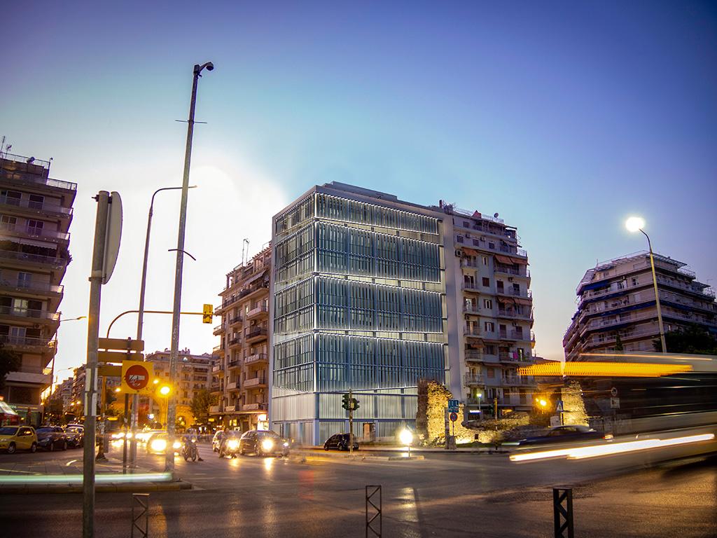 """Αρχίζει η αναβάθμιση του κτιρίου διοίκησης της ΕΥΑΘ σε """"πράσινο"""" κτίριο"""