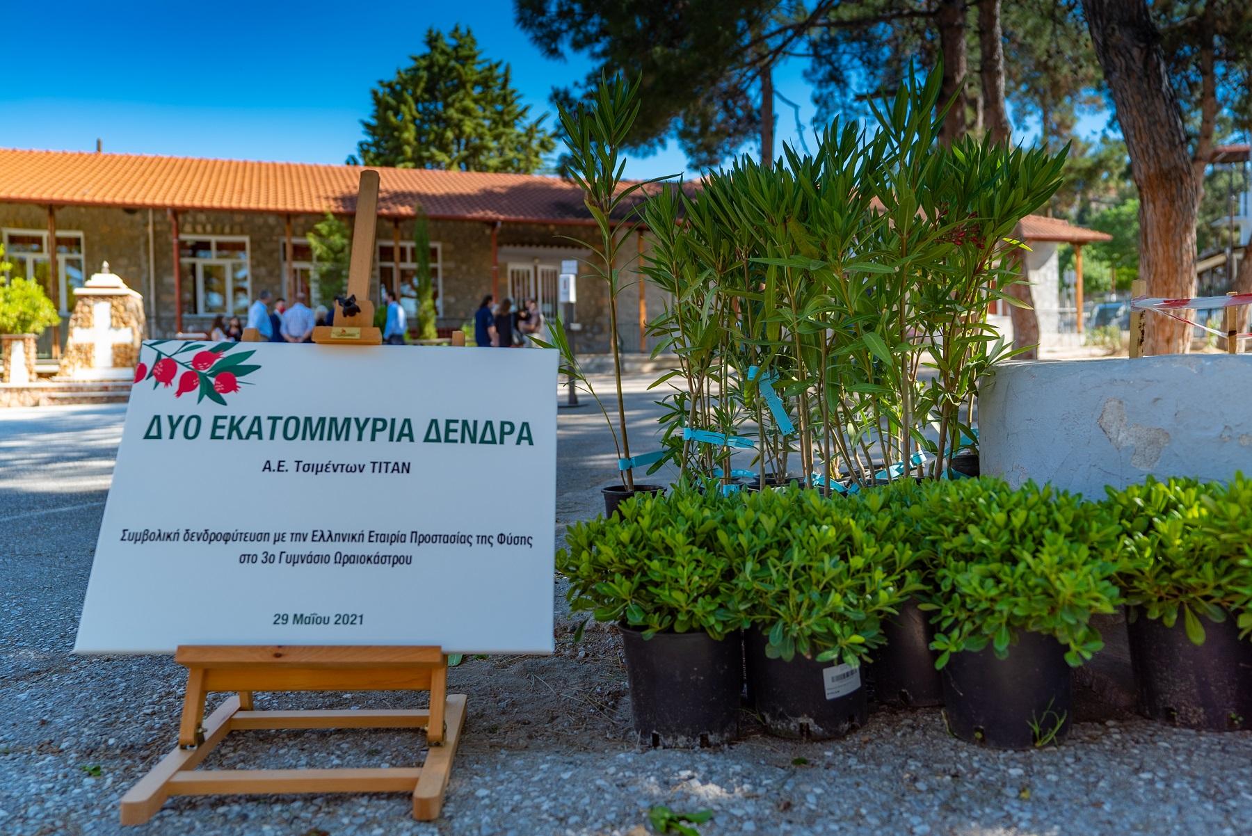 ΤΙΤΑΝ: Με γνώμονα την αειφορία και την προστασία του περιβάλλοντος – 2.000.000 δέντρα σε όλη την Ελλάδα