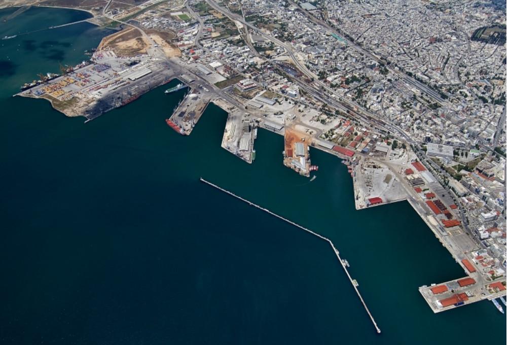 Σε εξέλιξη τα έργα υποδομών στον Λιμένα Θεσσαλονίκης