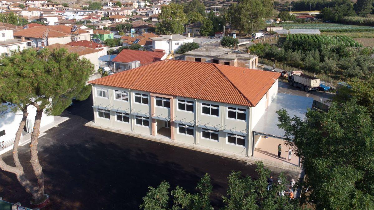 ΓΕΚ ΤΕΡΝΑ: Έτοιμο το σχολείο στο Δαμάσι Τυρνάβου με υπεργολάβο την Αρμός Προκατασκευές Α.Ε. – Η προσφορά ξεπέρασε τα 1,2 εκατ. ευρώ