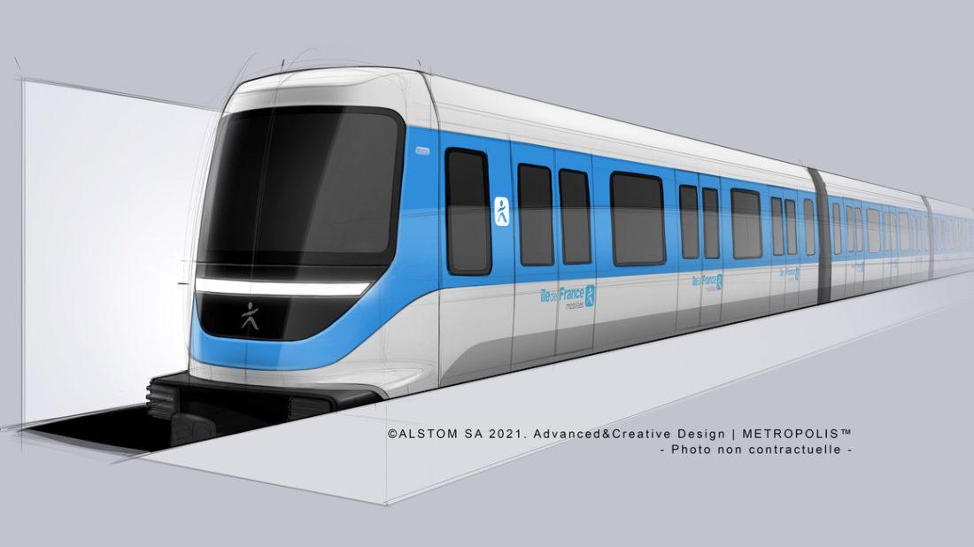 Alstom μετρό Παρίσι
